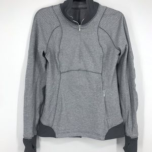 Lululemon long sleeve zip up size 8